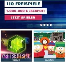 110 Freispiele ohne Einzahlung bei Prime Slots