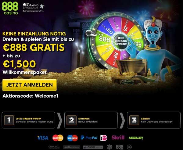 888 Casino Erfahrungsbericht