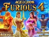 Age of the Gods: Furious 4 Spielautomat