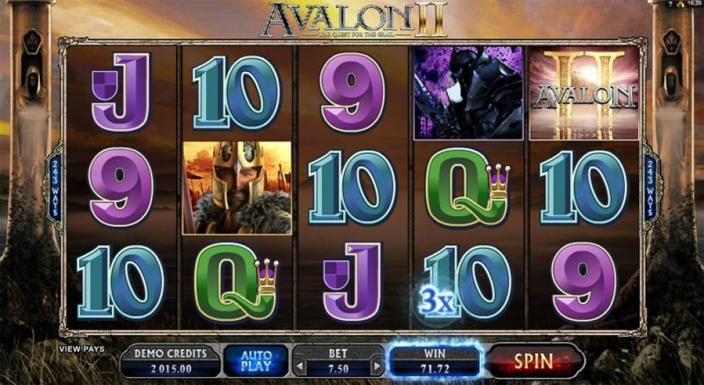 Avalon II online Videoslot
