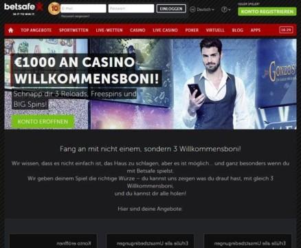 100% bis zu 250€ + 10 Big Spins