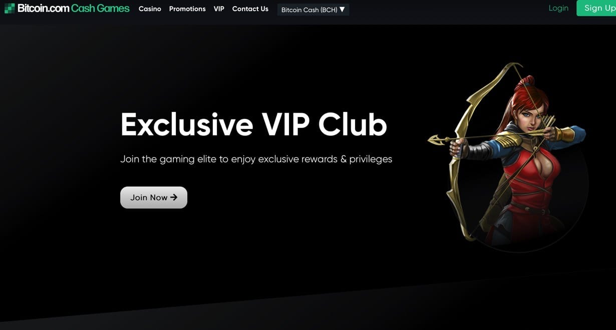 Bitcoin.com - Anonym ohne Konto Spielen Casino