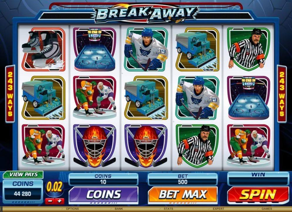 Break Away online Video Slot