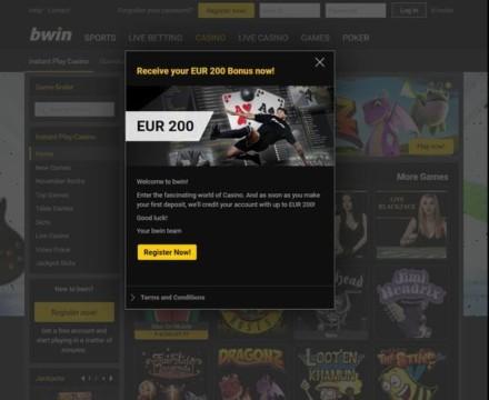 100% bis zu 200€ Bonus