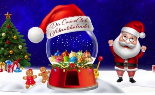 an der weihnachtlichen Glückskugel drehen