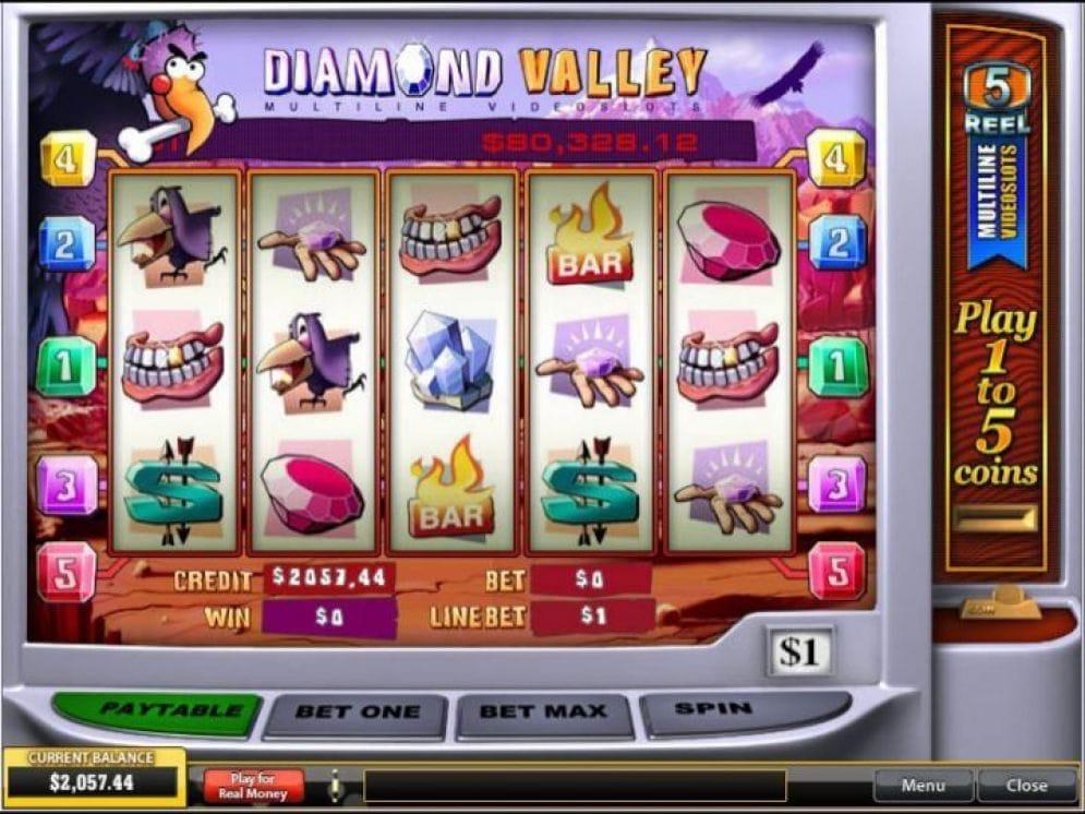 Diamond Valley Automatenspiel
