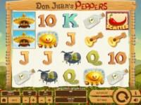 Don Juan's Peppers Spielautomat