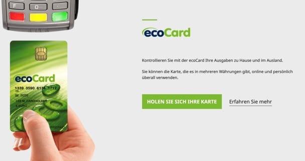 EcoCard in online Casinos nutzen