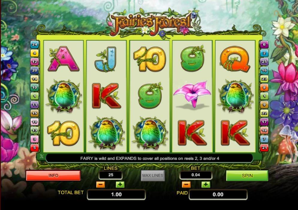 Fairies Forest Spielautomat