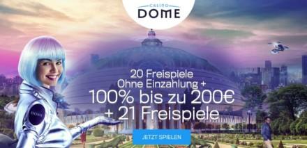 20 Freispiele Ohne Einzahlung + 100% bis zu 200€  + 21 Freispiele