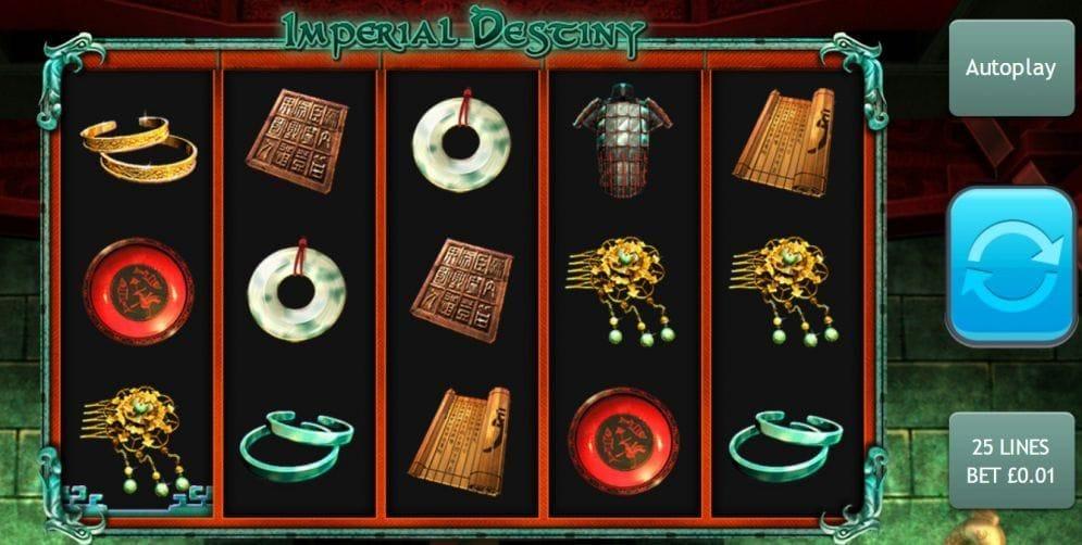 Imperial Destiny Videoslot