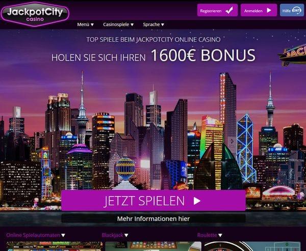 JackpotCity Casino im Test