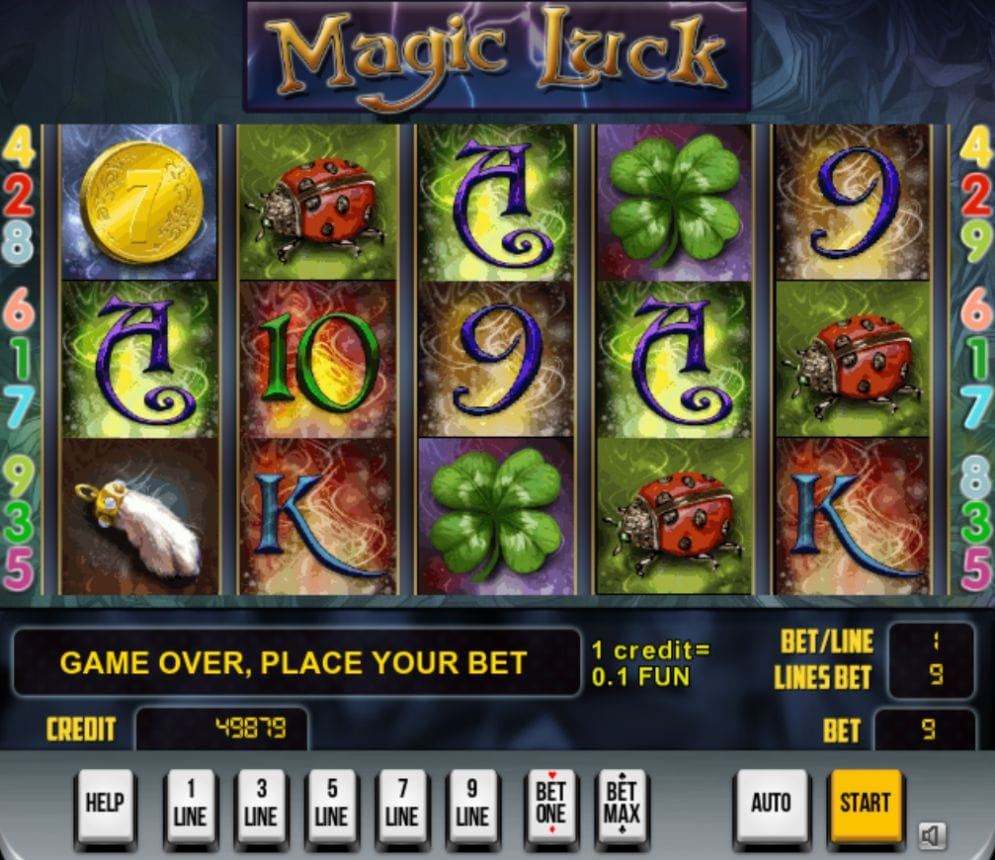 Magic Luck online Casino Spiel