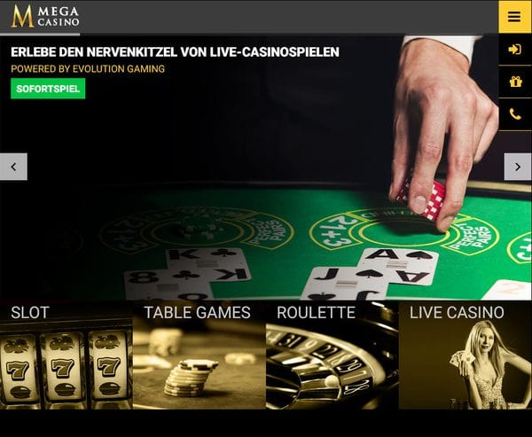 Mega Casino im Test