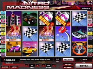 Nitro Madness Videoslot online spielen
