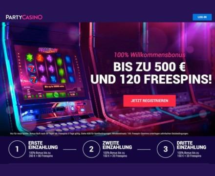 100% Willkommensbonus bis zu 500€ + 120 FREISPIELE für Starburst!