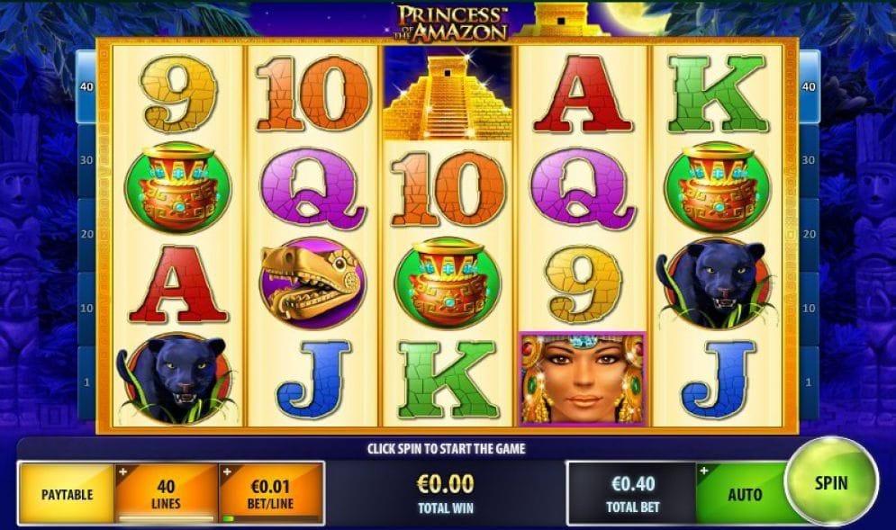 Princess of the Amazon online Casinospiel