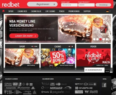100% Casino-Bonus bis zu 100€ mit dem Code WELCOME