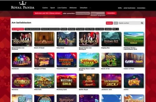 Royal Panda Casino im Test