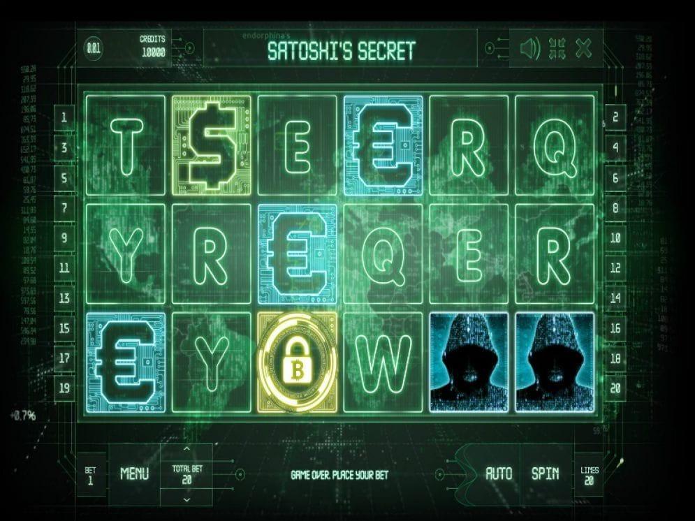 Bitcoin Spielautomat - Satoshi's Secret Casinospiel kostenlos