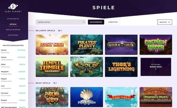 Slot Planet schenkt Freispiele für Dead or Alive und Starburst
