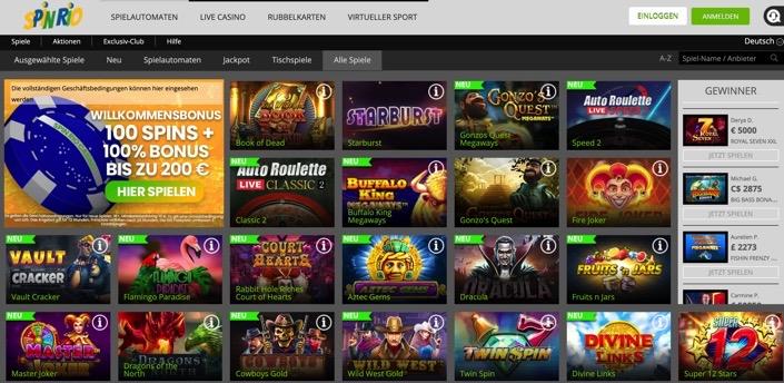 Spin Rio online Echtgeld Casino