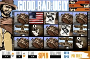The Good The Bad and The Ugly Casinospiel ohne Anmeldung