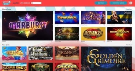 Casino ohne Registrierung: Einzahlungen und Auszahlungen ab 10€