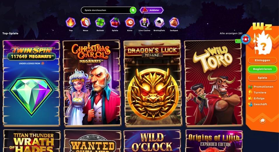 Wazamba Casino Erfahrung und Auszahlungsdauer