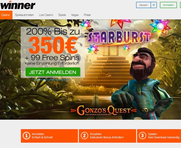 Winner Casino Rezension