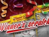 Winners scratch Spielautomat