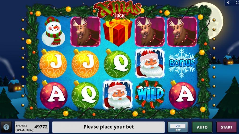 Xmas Luck Spielautomat