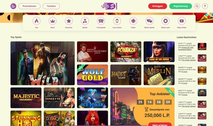 YoYo Casino getestet und bewertet